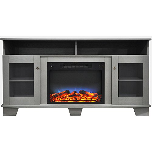 59 inch electric fireplace - 7