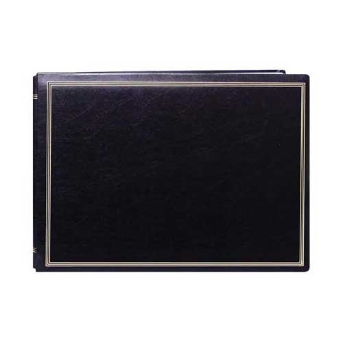 Pioneer Photo Albums JMV207-BL Magnetic X-Pando Album 20 Page size up to 14'' x 11'' Black by pioneer photo Albaums