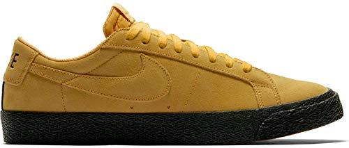 NIKE Herren Sb Zoom Blazer Low Fitnessschuhe, Yellow Ochre/Black