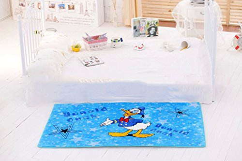 EKEA-Home Cartoon Donald Duck Skid-proof Washable Big Carpet Kids Nursery Entertainment Floor Area Rugs Baby Crawling Mat For Living Room/Bed Room Duck,150x100cm/59.1'' x39.4 by EKEA-Home®