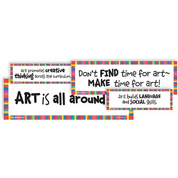Why We Teach Art Display Cards
