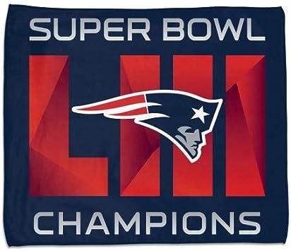 Wincraft New England Patriots Super Bowl LIII 53 Champions Beach Towel 30 X 60