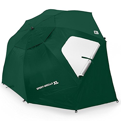 Sport-Brella XL Vented SPF 50+ Sun and Rain Canopy Umbrella for Beach and Sports Events (9-Foot) from Sport-Brella
