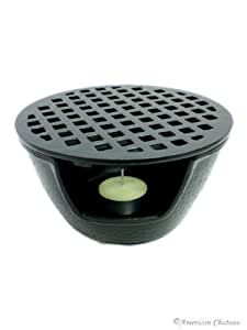 Cast Iron Teapot Warmer 5-3/4in Black #tw1