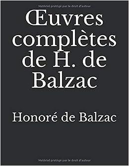 Descargar Utorrent En Español œuvres Complètes De H. De Balzac Epub O Mobi