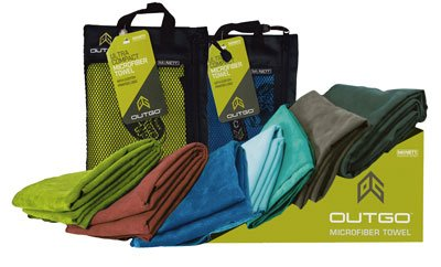 Gear Aid Outgo Microfiber Towel XL Cobalt Mcnett 68152