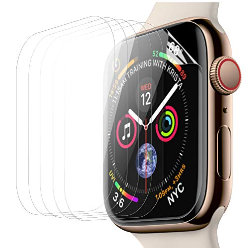 Screen Protectors Premium 3 (for Apple Watch Screen Protector 42mm (Series 3/Series 2/Series 1),Ambison Premium Screen Protector for Apple Watch 42 mm Easy Installation/Anti-Scratch (6 Pack))