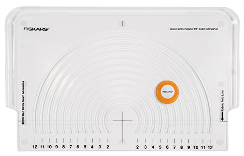 - Fiskars 111310-1004 Fabric Circle Cutter