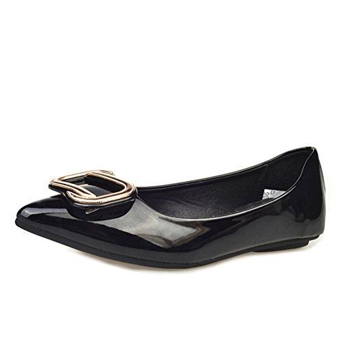Zapatos puntiagudos de la Dama de la moda/Salvaje luz zapatos planos/Zapatos de las mujeres europeas y americanas B