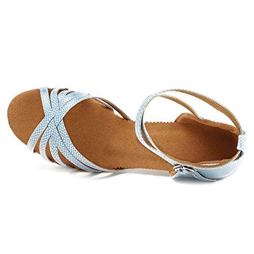 Modle Ykxlm Chaussures Bleu Pour Ukxgg Spectacle Clair Femmes Danse Standard Salle Latine De qqaxzwOZ