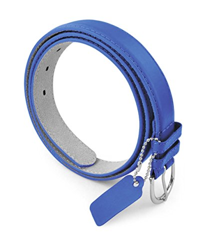 belle-donne-womens-1-1-8-in-bonded-leather-belt-with-metal-buckle-royalblue-x-large