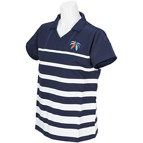 キャロウェイゴルフ Callaway Golf 半袖シャツ?ポロシャツ スムース半袖シャツ レディス ネイビー 120 S