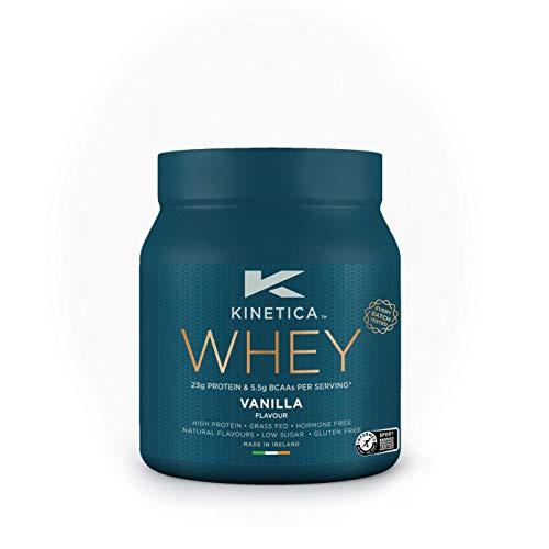 Kinetica Whey Protein Powder, 10 Servings, Vanilla, 300g