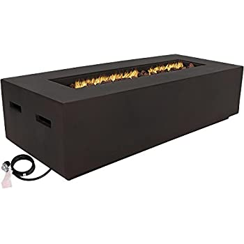 Amazon Com Real Flame Baltic Rectangle Natural Gas Fire