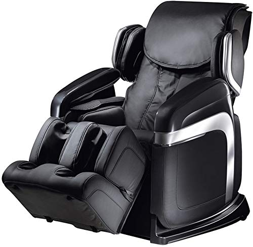 Fujiiryoki FJ-4600B Dr. Fuji Cyber Relax 3D Zero Gravity Super Deluxe Massage Chair, Black, 14 Sets of Automated Massage Programs, 3D Pinpoint Massage, Adjustable Functions, 32 Air Bags