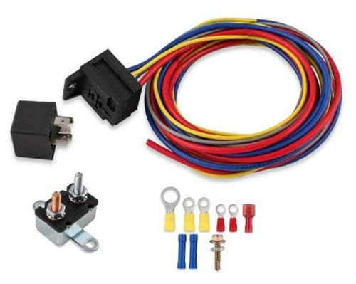 MSD 89618 Electric Fuel Pump Harness & Relay Kit