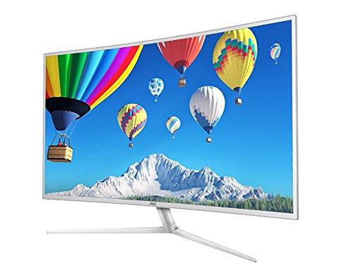 """AOC C4008VH8 40""""Class Curved LED Monitor, VA Panel, Full HD, 300cd/m2, 5ms, VGA, DVI, (2) HDMI, Spk"""