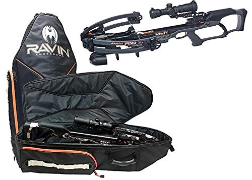 (Ravin R10 Crossbow Package Gun Metal Gray with Soft Case Bundle)