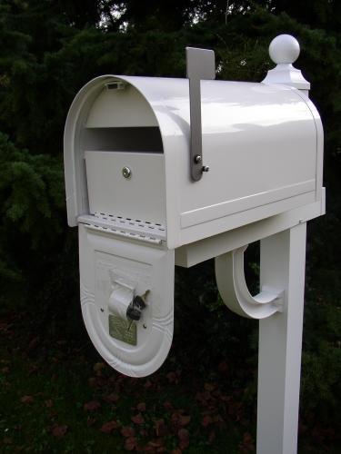Amerikanischer Briefkasten us mailbox wyngate abschließbar stahl weiß us mailbox amazon