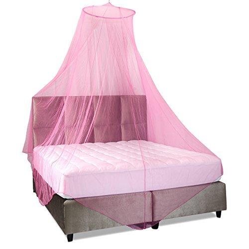 14 opinioni per Lumaland zanzariera rotonda per interni od esterni colore rosa