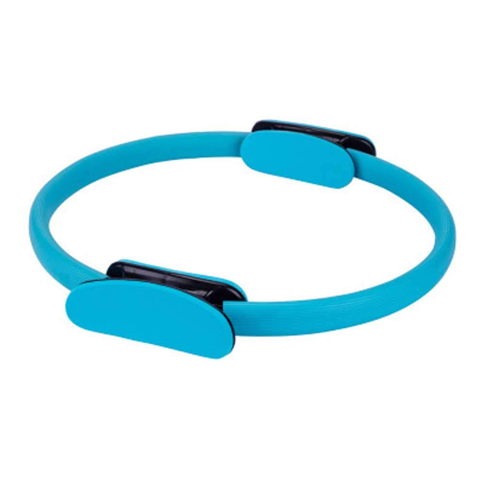 Landwalker Pilates Ring- Creat Resistance for Varieties of Toning Exercise and Improving Balance,Superior Dual Grip Fitness Ring for Rehabilitation Training(Blue)