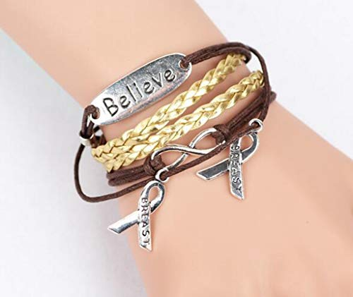 2019 Hot Charm Old Vintage Rudder 8 Bronze Wax Cords Multilayer Braided Bracelets for Women Gift