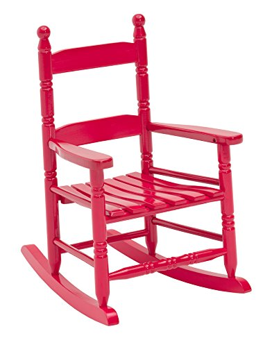 JACK-POST KN-10R Classic Child's Porch Rocker Red by JACK-POST