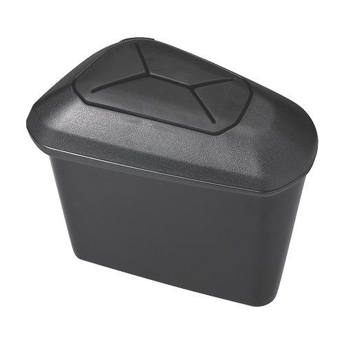 Japan Toyota Prius (Carmate Nz512 Japan CAR Toyota Prius Trash Box Door Pocket Portable Compact Waste Basket Garbage Can Black)
