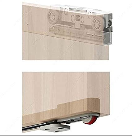 Merveilleux Wall Mount Sliding System With Concealed Hardware For Wood Doors    Completely Concealed Hardware And Track     Amazon.com