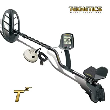 Detector de metales Teknetics T2 Ltd placa 11 DD metaldetector Oro Monedas