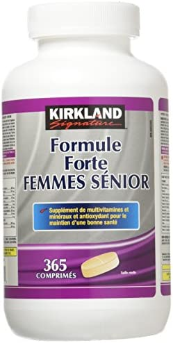 Kirkland Signatur Formula Forte Senior Women, 365 Tablets 365