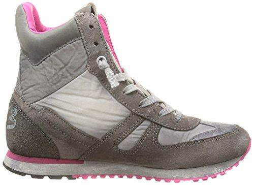 Lotto Tokyo NY Mid W Q843 Damen Sneaker Grau (OPAL GRY/L GRAY)
