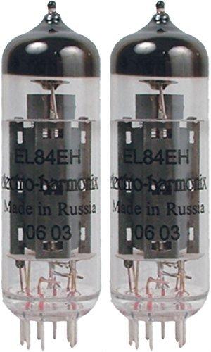 Electro-Harmonix EL84 Vacuum Tube, Matched Pair