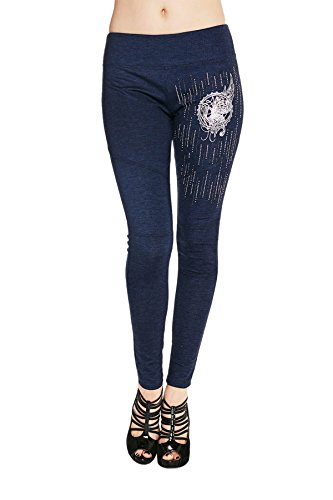 Harley-Davidson Womens Steel Butterfly Moto Style Leggings for sale  Delivered anywhere in USA