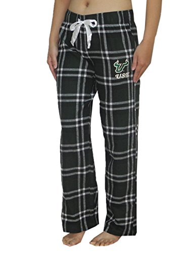 NCAA South Florida Bulls WOMENS Plaid Fall / Winter Pajama Pants M Multicolor - Bulls Pajamas Women