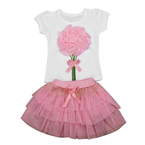 deeseetm-floral-baby-kids-girl-dress-short-sleeve-top-t-shirt-skirt-outfits-clothes-set-height110cm-