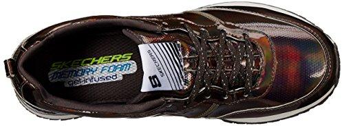 SkechersRetros Retrospect - Zapatillas mujer Gris - Grey (Pew)