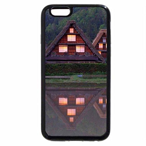 iPhone 6S / iPhone 6 Case (Black) Village Houses