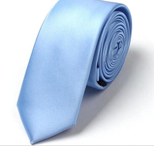 SHANF - Corbata de Seda Hecha a Mano para Hombre, Color Azul Claro ...