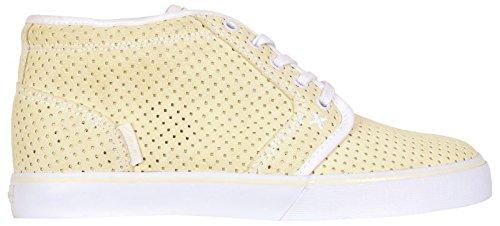 Circa Shoes Drifter Mid Pastel Amarillo / Blanco Sz 13