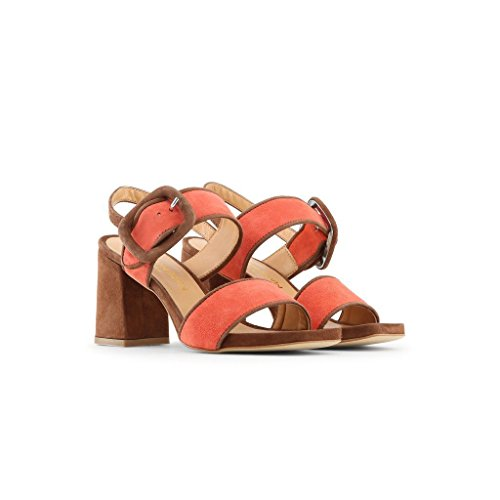 SandalesFemmes Made Made In Marron In Italia xgq01IF