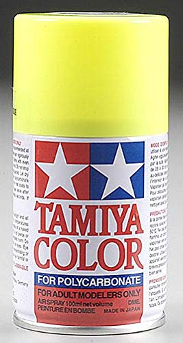 Tamiya Polycarbonate PS-27 Fluorescent Yellow, Spray 100ml