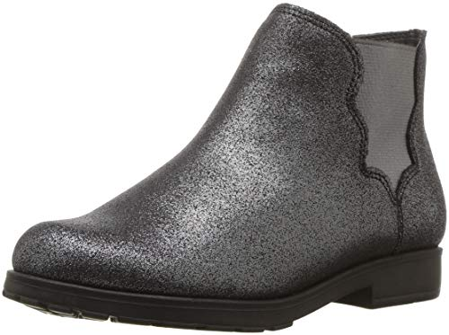 Stride Rite Girls' SR Isabella Boot Fashion, Black Sparkle, 2.5 M US Little Kid for $<!--$25.99-->