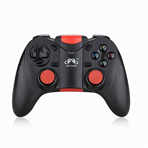 Jannyshop GEN Game S6 Bluetooth Wireless Game Controller Gamepad Joystick for iOS Android Mobile Phones Tablet TV Box Universal Game Handle(2019 New)