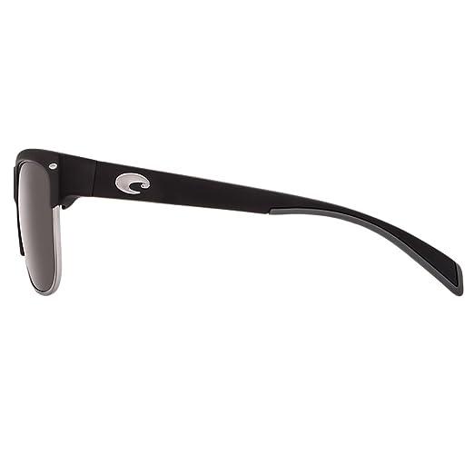 6549d16a1f02 Amazon.com: Costa Del Mar Men's Pawleys Sunglasses (Matte Black,Gray ...