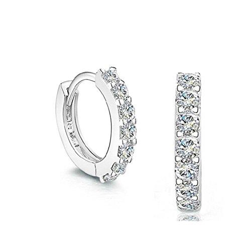 [ER1210083C1 New Style Silver Europe Geometric Earring] (Starter Dance Costumes For Sale)