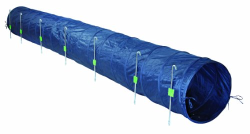 Trixie 3211 Dog Activity Agility Basic Tunnel, ø 60 cm/5 m, blau