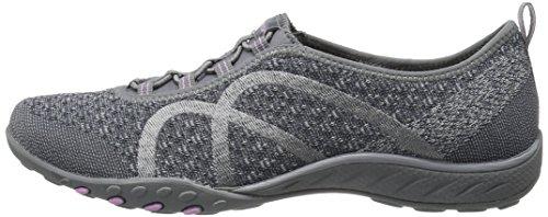 Skechers Sport Women's Breathe Easy Fortune Fashion Sneaker,Charcoal Knit,5.5 M US by Skechers (Image #5)
