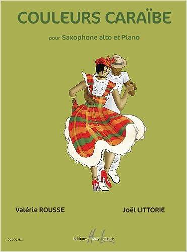 Livres gratuits en ligne Couleurs Caraïbes pour Alto et Piano pdf