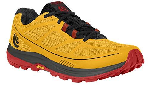 (Topo Athletic Terraventure 2 Running Shoe - Men's Yellow/Black 9)